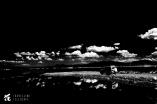 TT passing the shores of Lake Magadi