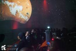 Rusinga students learn about Mars