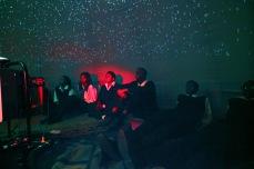A sky full of stars inside our Planetarium