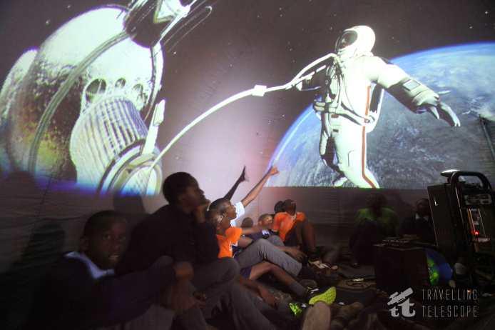 Spacewalking in our Planetarium