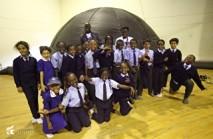 Spaceheads outside the Planetarium