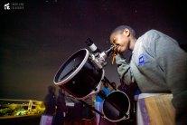 Observing Mars from Mara