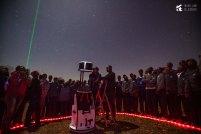Kisaruni Boys observing the Orion Nebula