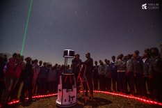 Kisaruni Boys observing the Orion Nebula